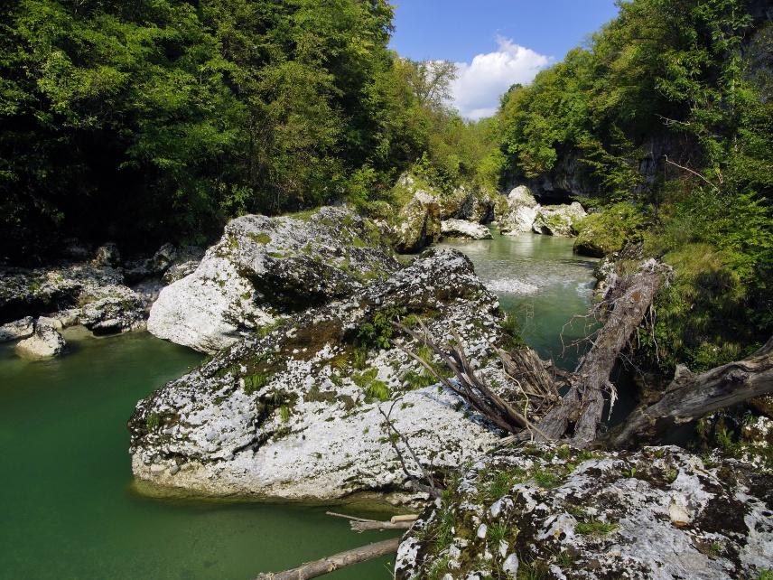 Forra del Natisone (Ponte San Quirino) - foto di Marco Pascolino